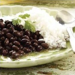 Classic Black Beans and Rice (Reduced Sodium) Recipe