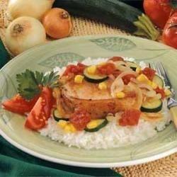Photo of Pork Chop Veggie Medley by Shirley  Hulin