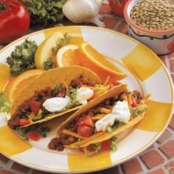 Photo of Tasty Lentil Tacos by Michelle  Thomas