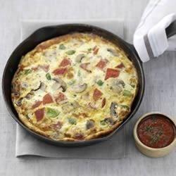 Pizza Frittata Recipe