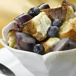 Wild Blueberry Chicken Sausage Breakfast Pudding Recipe