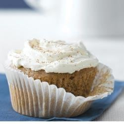 Carrot-Ginger Cupcakes with Spiced Cream Cheese Recipe