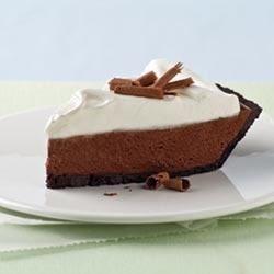 Chocolate Silk Pie with Marshmallow Meringue
