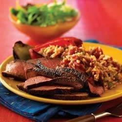 Photo of Cajun Beef Pepper Steak by The Beef Checkoff BeefItsWhatsForDinner.com