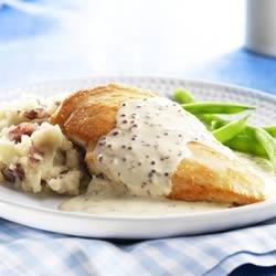 Creamy PHILLY Mustard Chicken Recipe