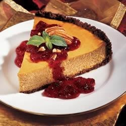 Cranberry Pumpkin Cheesecake Recipe