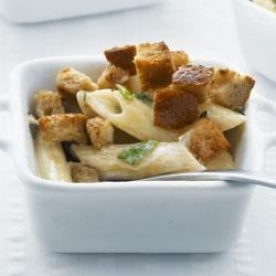 Photo of Creamy Baked Penne and Cheese by Philadelphia Cooking Creme