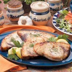 Photo of Grilled Halibut Steaks by Lisa  Rowley
