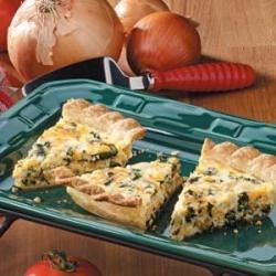 Photo of Chicken Spinach Quiche by Barbara  McCalley