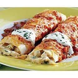 BREAKSTONE'S Creamy Sour Cream Chicken Enchiladas Recipe