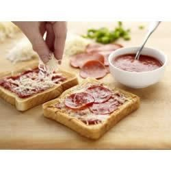 Wonder Kids Mini Pizzas Recipe
