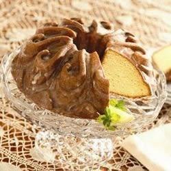 Photo of Lemon Yogurt Pound Cake with Lemon Glaze by Crisco Baking Sticks®