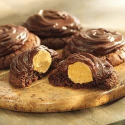 Photo of Peanut Butter Brownie Cookies by Jif®