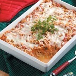 Photo of Spaghetti Casserole by Kathy Bence