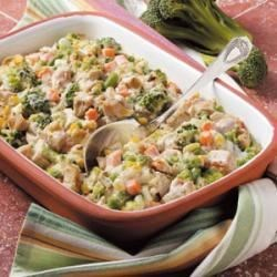 Photo of Veggie Turkey Casserole by Michelle Summers