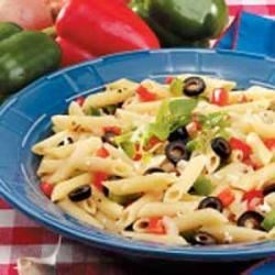 Photo of Bell Peppers and Pasta by Sharon  Csuhta