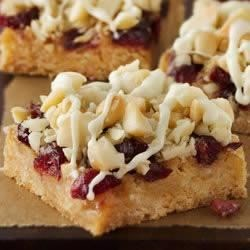 Cranberry-Macadamia Bars Recipe