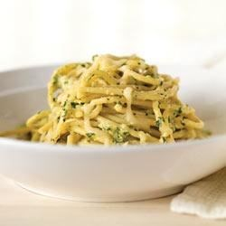 Creamy Green Spaghetti Recipe
