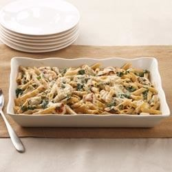 Chicken Penne Florentine Bake Recipe