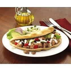 Mediterranean Turkey Pita Fold Recipe