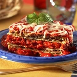 No Frying Eggplant Parmesan Recipe