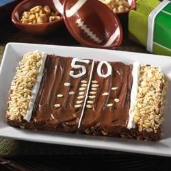 Gridiron Brownies(TM) Recipe