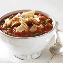 Tomato and Garlic Bread Soup Recipe