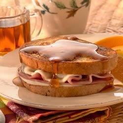Ham and Provolone Stuffed French Toast Recipe