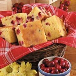 Photo of Cranberry Corn Bread by Sylvia  Gidwani