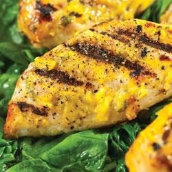 Mango Cilantro Chicken with Truvia(R) Natural Sweetener Recipe