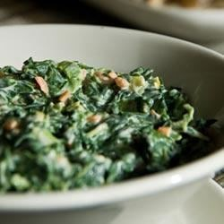 Creamed Spinach from Oikos(R) Recipe