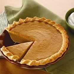 Signature Pumpkin Pie Recipe