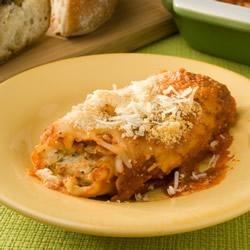 Easy Three Cheese Manicotti Recipe