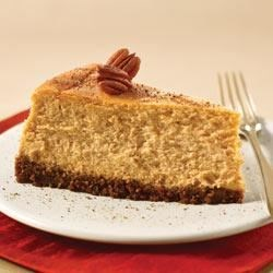 PHILADELPHIA Spiced Pumpkin Cheesecake