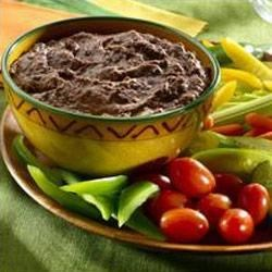 Zippy Black Bean Dip Recipe