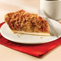 Cranberry-Pear Crumble Pie Recipe