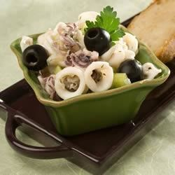 Grammy's Calamari Salad Recipe