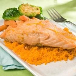 Grilled Salmon With Orange Glaze Recipe