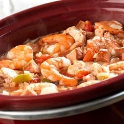 Slow Cooker Jambalaya Recipe