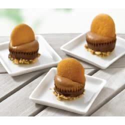 Photo of Chocolate-Peanut Butter Bonbons by Philadelphia Cream Cheese