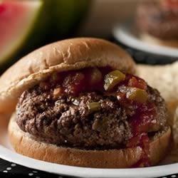 Wild West Picante Burgers Recipe