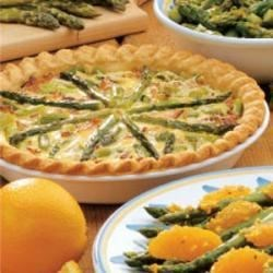 Photo of Asparagus Swiss Quiche by Mary Ann Taylor
