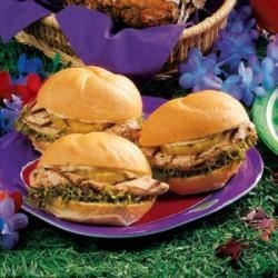 Photo of Luau Chicken Sandwiches by Denise  Pope