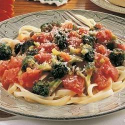Photo of Broccoli Fettuccine by Dorothy  Elliott