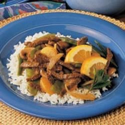 Photo of Mandarin Beef Stir-Fry by Anne  Drouin