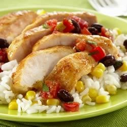 Photo of Saute Express® Saute Starter Confetti Chicken by Land O'Lakes Test Kitchen
