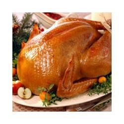 Brined and Roasted Whole Turkey Recipe