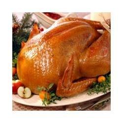 Brined and Roasted Whole Turkey Recipe