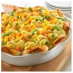 Upside-Down Chicken Pot Pie Recipe