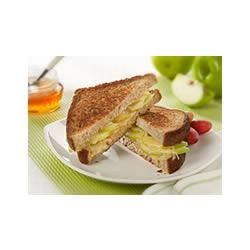 Grilled Green Apple and Gruyere Sandwich Recipe